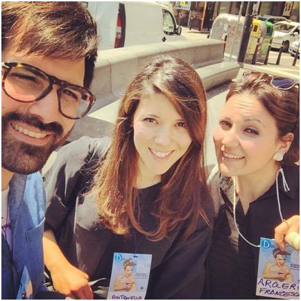 Francesca Arcieri, Saverio Rizzuto e Antonella Serra dello studio due+2